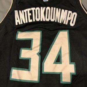 Antetokounmpo Milwaukee Bucks Jersey
